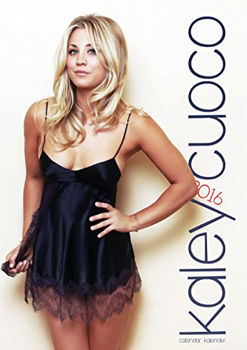 libro kaley cuoco 2016 calendar big bang theory di kaley. Black Bedroom Furniture Sets. Home Design Ideas
