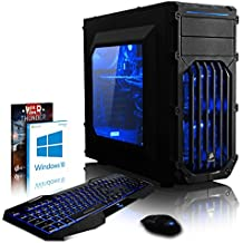 VIBOX Pyro GLR7TX-460 Gaming PC Computer with War Thunder Game Voucher, Windows 10 OS (4.0GHz AMD Ryzen Threadripper 8-Core CPU, Nvidia GeForce GTX 1080 Ti Graphics Card, 32GB DDR4 RAM, 2TB HDD)