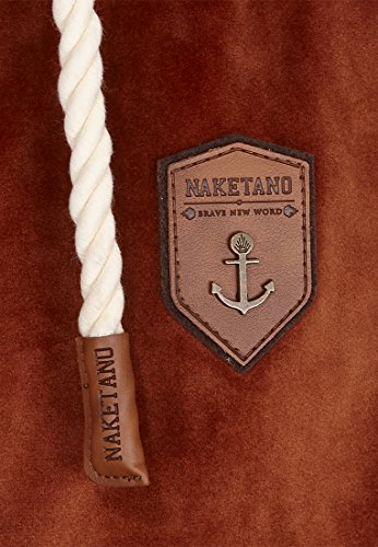 Naketano Male Zipped Jacket Birol Mack IV Copper