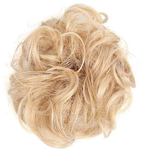 Insun Haarteil für Haarknoten und Pferdeschwanz Gewellt Haarverlängerung Unordentlicher Haarknoten...
