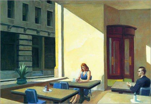 poster-70-x-50-cm-sunlight-in-cafeteria-de-edward-hopper-reproduction-haut-de-gamme-nouveau-poster