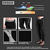 DRSKIN-Compression-Base-Layer-Long-Sleeve-Under-Shirt-Pants-M-DBSB