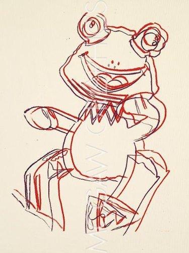 Rana, 1983da Andy Warhol Art Print
