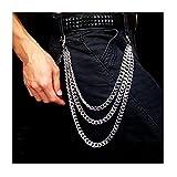 GoGou Jeans-Hose-Hosen-Kette Keychain Männer Hip Hop Punk Gothic Rock (style01)