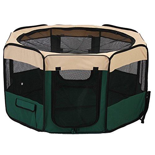 Tenda per animali domestici - TOOGOO(R) Canile cassa pieghevole per cane gatto con la dimensione (Canile Pannello)