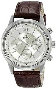 Titan Neo Analog Champagne Dial Men's Watch - 1766SL01
