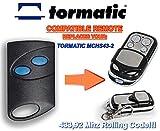 Handsender Tormatic mchs43–2kompatibel Fernbedienung destancia 433,92MHz Rolling Code, 4-canales Ersatz Transmitter zum Besten Preis.