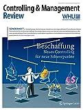 Controlling & Management Review Sonderheft 2-2016: Beschaffung - Neues Controlling für neue Schwerpunkte (CMR-Sonderhefte)