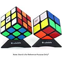 Cubelelo QiYi 2x2 3x3 Beginner Bundle (Black) High Speed Combo Puzzle Cube Magic Puzzle Toy