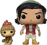 Funko- Pop Vinilo: Disney: Aladdin (Live Action): Aladdin & Abu Figura Coleccionable, Multicolor (37022)