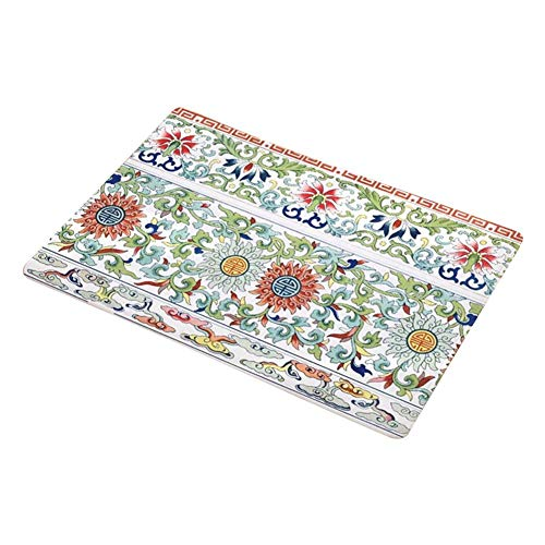 Wifehelper Folk-Custom Rutschfeste Türmatte Wasseraufnahme Teppich mit Bad Pad Matte Badezimmer Schlafzimmer Dekor (# 2) -
