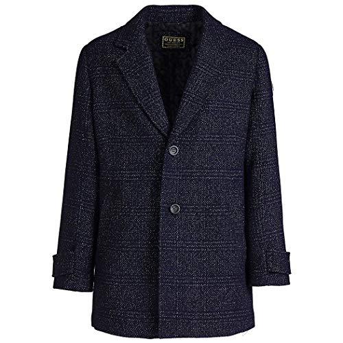 Guess N94L36 WC230 Evening Coat - Abrigo Hombre Azul
