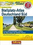 Deutschland Süd Stellplatz-Atlas 2018/2019: Mit Strassenkarte 1:800 000. Die besten 2010 Reisemobil-Stellplätze mit GPS-Daten, Foto, Adresse, ... Ausstattung, Freizeitwert (Hallwag Promobil)