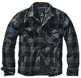 Brandit Luimberjacket, Black-Grey, Größe L