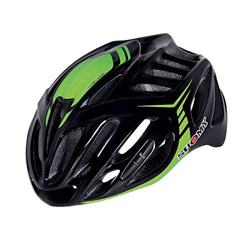 Suomy Casco bici Timeless nero / verde taglia L (Caschi MTB e Strada) / Road helmet Timeless black / green size L ( Mtb and Road Helmet)