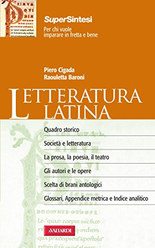 Letteratura latina: Sintesi Super