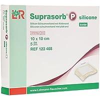 Suprasorb P Silicone Schaumverband Border 10x10 cm, 5 St preisvergleich bei billige-tabletten.eu