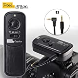 PIXEL RW-221 E3 Funkfernausloeser Fernauslöser Kamerazubehör Auslöser Fernbedienung für Canon EOS Rebel Powershot kameras
