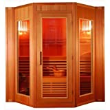 Trade-Line-Partner - Sauna  con horno Harvia  (cabina de infrarrojos, para 5 personas)