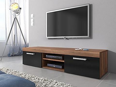 Meuble TV Armoire Support Mambo Noyer/noir (37 Legno Porta Tv)