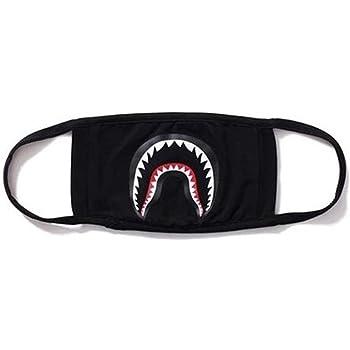 SROVFIDY Fashion A Bathing Ape Bape Shark Black Face Mask Camouflage Mouth-muffle  BAPE Cover 08fd0eba266b