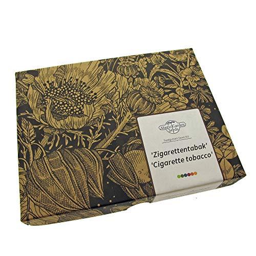 'Zigarettentabak' Samen-Geschenkset mit 3 geeignete Tabaksorten für Zigarettentabakmischungen