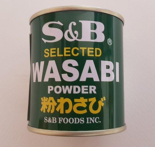 Wasabi Pulver S&B Wasabipulver für Sushi 30g