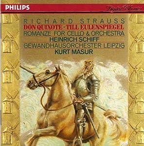 Strauss R-Don Quichotte-Till Eulenspiegels-K.Masur-H.Schiff- 1&Romance Vcelle-Gewandhausorch.Leipzig-