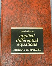 Applied differential equations (Prentice-Hall mathematics series)