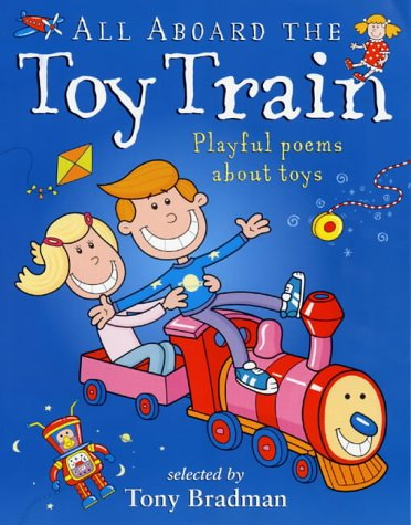 All aboard the toy train