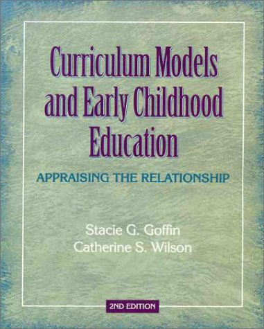 PDF-BOOK Curriculum Models and Early Childhood Education: Appraising