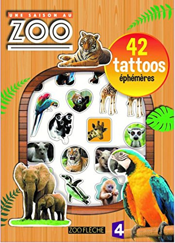 Une saison au zoo - 42 tattoos éphémères