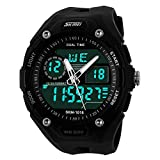Skmei Analogue-Digital Black Dial Men's ...