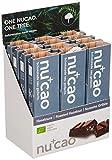 nucao Veganer Bio Superfood Riegel – Haselnuss – Nährstoffreiche Vegane Schokolade aus Hanfsamen & Roh-Kakao, 480 g