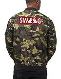 Dope Hands Swag Bomberjacke Camouflage Certified Freak-M