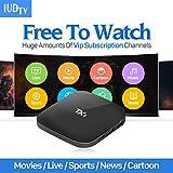 TX1 Internet por Televisión Decodificador IPTV + Francia Italia Alemania Y Polonia 2.000 Canales IUDTV