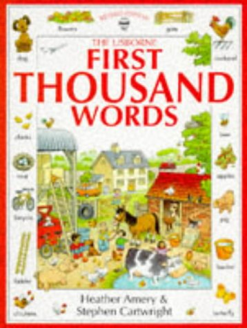 First Thousand Words (Usborne First Thousand Words) par Heather Amery