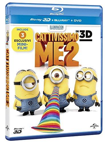 Preisvergleich Produktbild Cattivissimo me 2 [Blu-ray + Blu-ray 3D + DVD] [IT Import]
