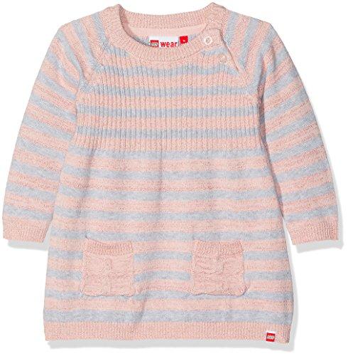 LEGO Wear Baby-Mädchen Kleid Duplo Girl Katlyn 601-Strickkleid, Rosa (Rose 408), 74