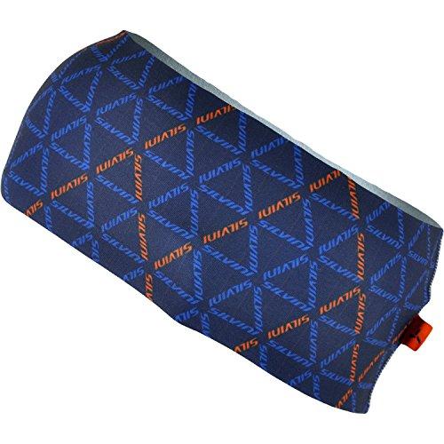SILVINI PIAVE Beanies & Headbands, Navy-Orange, L/XL