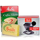 Melitta Coffee Maker Single Cup Pour Over Coffee Brewer with Natural Brown Cone - Best Reviews Guide