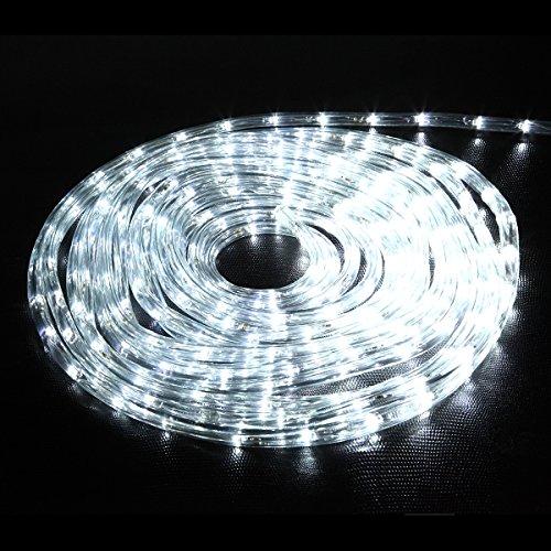 crownroyaljack LED Lichterkette Stecken Sie ein Drinnen draußen zum Zuhause Hochzeit Party Dekoration (8 Modi, 10M Durchsichtigen Kabeln, 240 Leds)
