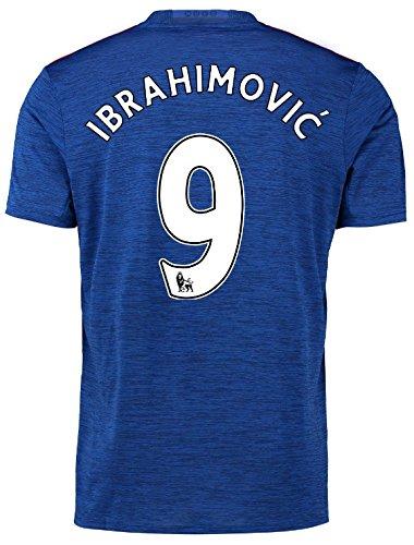 Trikot Adidas Manchester United 2016-2017 Away (Ibrahimovic 9, M)