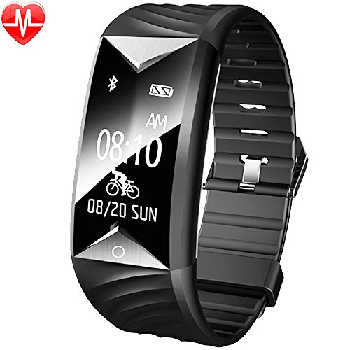 Galleria fotografica Willful Orologio Fitness Activity Tracker Cardiofrequenzimetro da Polso Impermeabile IP67 Nuoto Braccialetto Bracciale Fitness Smart Watch Band Cardio Smartband Bluetooth Smartwatch Pedometro per Uomo Donna Bambini per iPhone Samsung Android iOS Smartphone ( Contapassi, Calorie, Distanza, Sonno, WhatsAPP Notifiche )