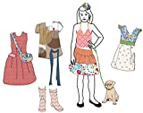 Wallgame Dollkit von Mimi'lou - Anziehpuppe mit Stickern zum An-und Ausziehen - Wallgame