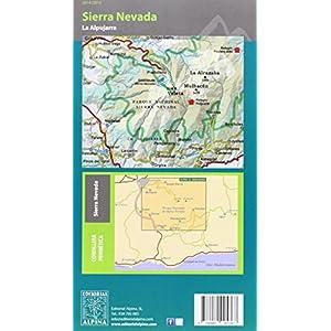 Sierra Nevada. La Alpujarra. Escala 1:40.000. Mapa excursionista. Alpina Editorial. (Castellano-English) (Mapa Y Guia Excursionista)