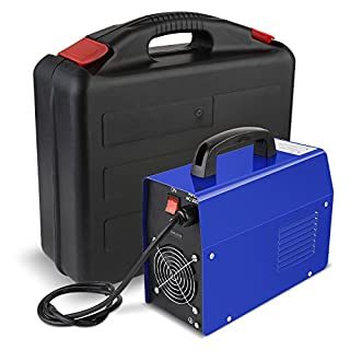 FIXKIT Portable Welding Inverter Machine,0-2.5mm Electrode Welder Electrode Welding Machine, 220V, 20-200A, Household with Case