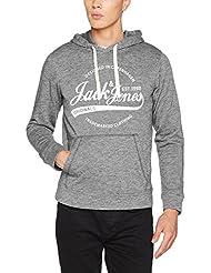 Jack & Jones Jorpanther Hood Noos, Sweat-Shirt à Capuche Homme