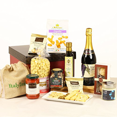 Squisito Luxury Italian & Sicilian Food Hamper Gift Box