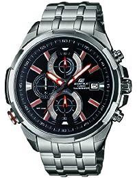 Casio Herren-Armbanduhr Edifice Chronograph Quarz Edelstahl EFR-536D-1A4VEF